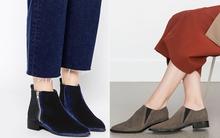 15 đôi boots đế bệt, cổ thấp khiến bạn muốn mua ngay từ cái nhìn đầu tiên