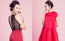 10 thiết kế đầm đỏ khiến bạn không ngại