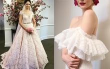 Xu hướng váy cưới mùa mới: Trong suốt, mong manh mà không hề phản cảm
