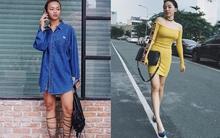 Mai Ngô lộ nhược điểm chân to, Tóc Tiên khoe dáng nuột nà trong street style tuần này