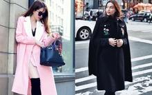 Kết hợp áo khoác sành điệu như Ngọc Trinh và Hà Hồ trong street style tuần này