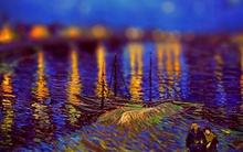 Biến tranh Van Gogh thành ảnh chụp