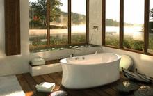 Phòng tắm ấm áp đón mùa sang