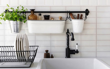 13 giải pháp lưu trữ hoàn hảo cho căn bếp chật