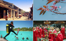 9 điểm đến trong và ngoài nước tuyệt vời cho chuyến du lịch Tết Âm lịch 2016
