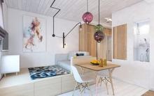 Hai căn hộ 28m² có cách bài trí đẹp đến đáng nể khiến bạn vào rồi chả muốn ra