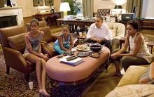 Cận cảnh không gian sống và vườn rau xanh mướt của gia đình Tổng thống Obama tại Nhà Trắng