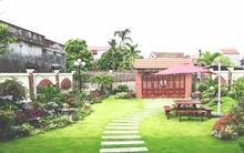 Ngắm ngôi nhà có sân vườn rộng 200m² đẹp như mơ ở thành Nam