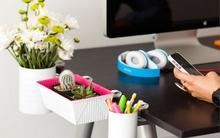 8 cách lưu trữ đồ thông minh giúp bàn làm việc dù nhỏ vẫn gọn đẹp