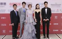 Lee Min Ho diện vest bảnh bao; Đường Yên lộ dáng siêu mỏng với đầm cúp ngực