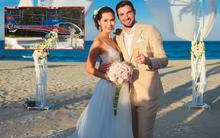 Đám cưới siêu lãng mạn với màn rước dâu bằng trực thăng của Hà Anh