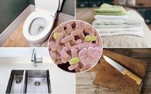 Danh sách 18 vật dụng bạn tiếp xúc hàng ngày bẩn gấp trăm lần bệ toilet