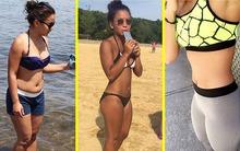 Nguyên nhân thực sự khiến cô gái trẻ không vui dù đã giảm 12kg trong 6 tháng