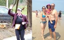 Chỉ bằng cách này mà bà mẹ 2 con có thể giảm tới gần 10kg trong 4 tháng và chiến thắng chính mình