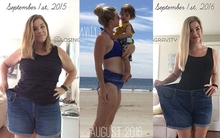 Bà mẹ 2 con này đã giảm 39kg trong 1 năm mà vẫn được thỏa mãn ăn món mình thích