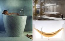 3 mẫu bồn tắm nhìn là mê, tắm là thích
