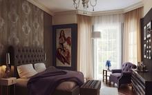 Sắc nâu trầm cho phòng ngủ sang trọng và ấm cúng