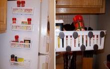 13 mẹo nhỏ nhưng rất hữu ích giúp không gian bếp luôn gọn gàng và sạch sẽ
