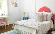Những màu sắc kết hợp hoàn hảo với màu hồng cho phòng ngủ nữ tính