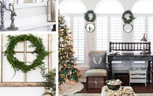 """Ngắm ngôi nhà được trang hoàng """"đẹp từng centimet"""" đón Giáng sinh về"""