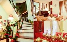 Ngôi nhà trang trí Noel đẹp từ trong ra ngoài ở Tây Hồ, Hà Nội