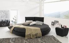 Phòng ngủ sành điệu và ấn tượng với chiếc giường tròn
