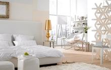 Phòng ngủ trắng với những thiết kế hoàn hảo không thể bỏ lỡ