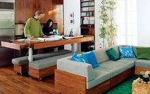 Mãn nhãn với căn hộ 60m² rộng không tưởng của cặp đôi nhà thiết kế nổi tiếng