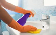 Dọn nhà tắm sạch bong trong chớp mắt đón năm mới