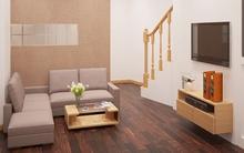 Tư vấn thiết kế và bố trí nội thất nhà ống 20,47m² thoáng mát và tiện nghi