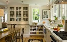 Shabby chic - phong cách nội thất tuyệt vời cho không gian nhà bếp