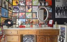 Trang trí tường với báo cũ - vừa tiết kiệm, vừa ấn tượng