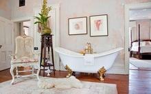 Ngó nghiêng những phòng tắm cổ điển đẹp mê mẩn