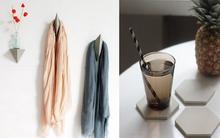 Sáng tạo những món phụ kiện trang trí nhà siêu xinh từ bê tông