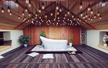 Những nhà tắm có nội thất từ gỗ tái chế khiến bạn chẳng muốn rời mắt