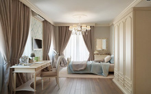 Màu nâu cho không gian phòng ngủ thêm lãng mạn và phong cách