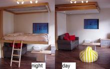 BedUp - đột phá mới trong thiết kế giường dành riêng cho không gian nhỏ