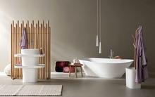 Mẫu nhà tắm chất lừ dành cho tín đồ của sự đơn giản mà tinh tế