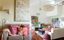 Trang trí nhà theo phong cách bohemian trẻ trung và thú vị