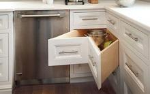Ngăn kéo góc - món nội thất không thể thiếu cho bếp chật