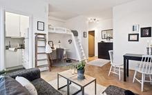 Giường gác xép - giải pháp tối đa hóa không gian tuyệt vời cho nhà diện tích nhỏ