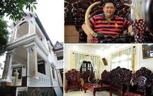 Căn biệt thự ở ngoại ô ngập tràn gỗ quý được cho là của diễn viên hài Minh Béo