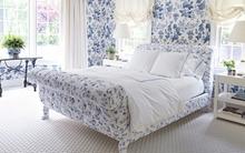 Những không gian sống đẹp mê ly sử dụng hai gam màu cổ điển trắng và xanh