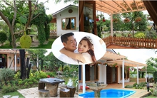 Khu vườn đầy hoa và quả rộng 700m² của vợ chồng ca sỹ Kiwi Ngô Mai Trang ở Sài Gòn