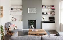 Trang trí nhà hiện đại và bắt mắt với gam màu trung tính