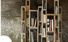 Tái sử dụng những tấm pallet gỗ thành đồ lưu trữ hiệu quả cho nhà chật
