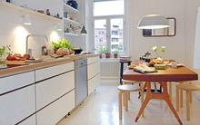 5 ý tưởng tuyệt vời để nội thất chẳng còn là nỗi lo với nhà bếp nhỏ