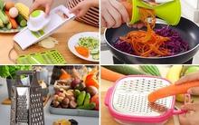 """Cắt, gọt, bào củ quả """"nhanh không tưởng"""" với những dụng cụ làm bếp siêu tiện ích"""