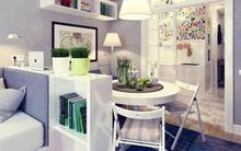 Kiến trúc sư gợi ý 10 thủ thuật ăn gian diện tích cho căn hộ nhỏ
