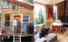 Ngôi nhà gỗ 18m² yên bình giữa rừng do cặp đôi tự tay xây dựng
